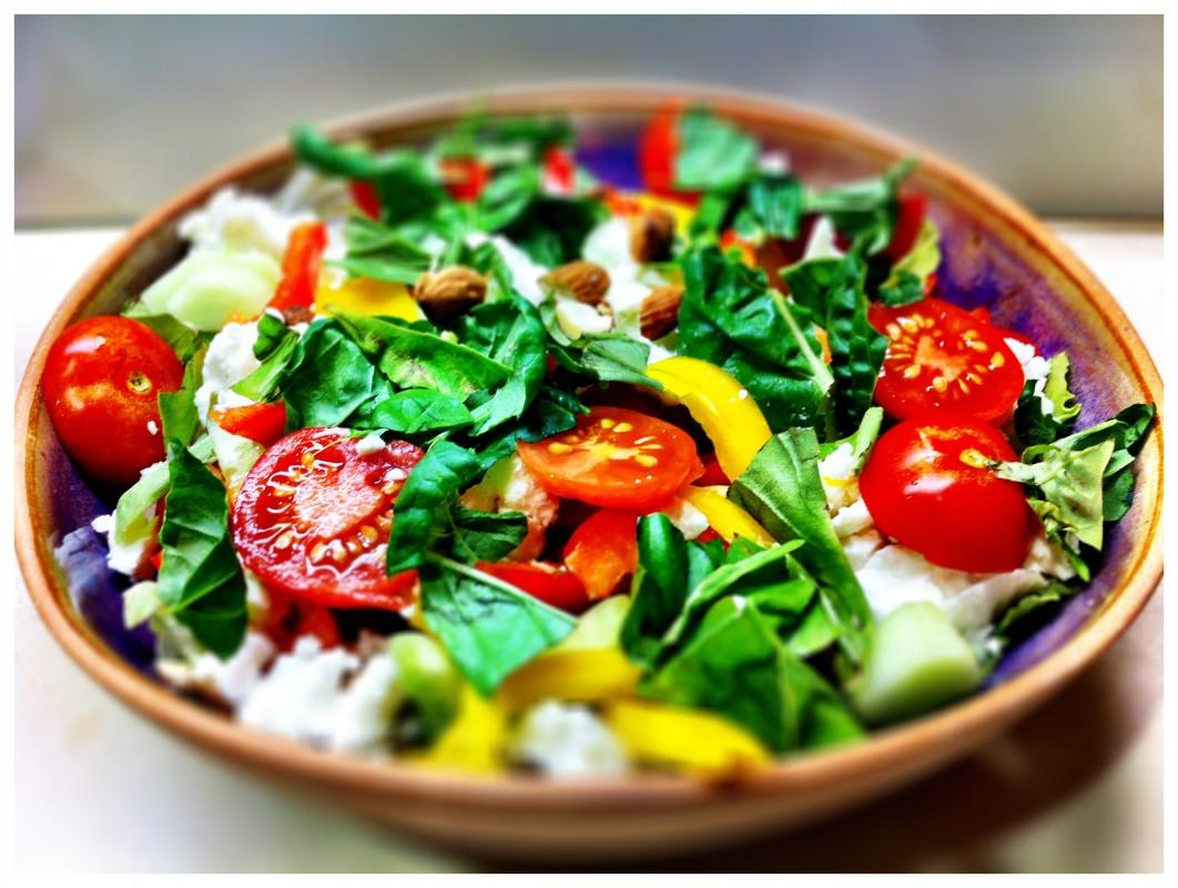 CLICK ME FOR A RIPPER RECIPE! Garden Tomato Salad