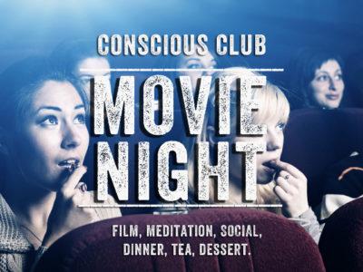 Conscious Club Movie Night Poster