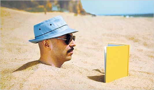 Reading Buried in Sand