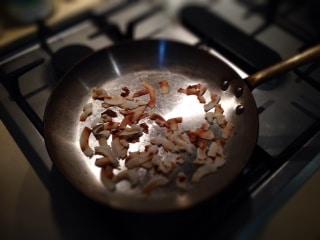 Toasting Coconut flakes
